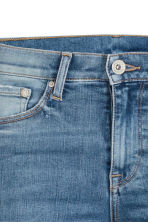 Shaping Skinny Regular Jeans - Denim blue/Worn - Ladies | H&M CN 5